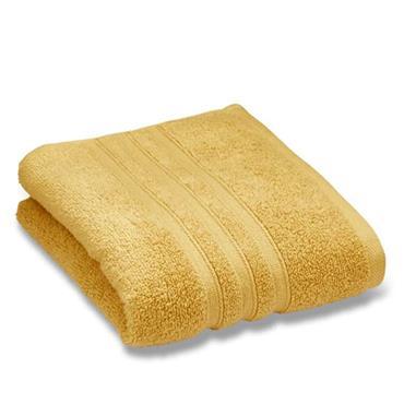 Catherine Lansfield Zero Twist Bath Sheet Ochre