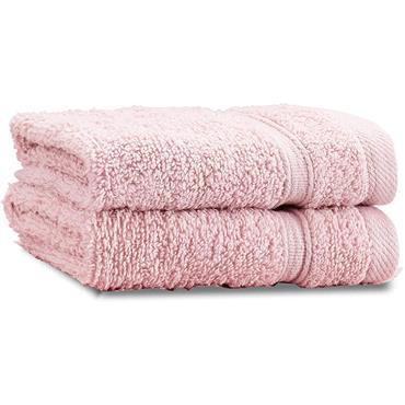 Catherine Lansfield Zero Twist Pink Face Cloth Pair