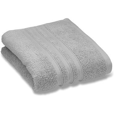 Catherine Lansfield Zero Twist Silver Hand Towel