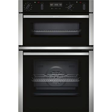 Neff N50 Built In Double Oven Stainless Steel