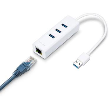 Tp Link 3 Portusb 3.0 Hub & Gigabit Ether