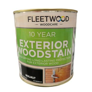 Fleetwood Quick Dry Satin Varnish Walnut 1L