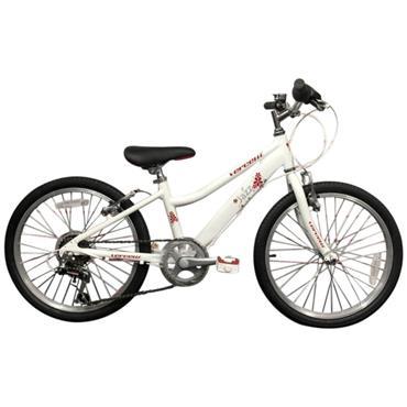 "Vercelli Jazz 20"" 6 Speed White Bicycle"