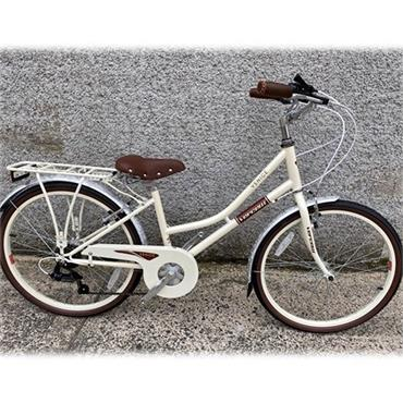 "Vercelli Venice Heritage Bike 24"" Wheel Cream"