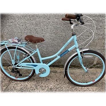 "Vercelli Venice Heritage Bike 24"" Wheel Mint"
