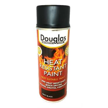 Douglas Heat Resistant Black Spray Paint