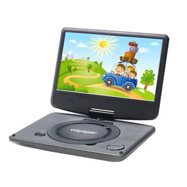 Voyager Portable DVD Player 7""