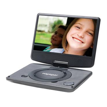 Voyager Portable DVD Player 9""