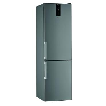 Whirlpool 70/30 Fridge Freezer Frost Free with 6th Sense Stainless Steel