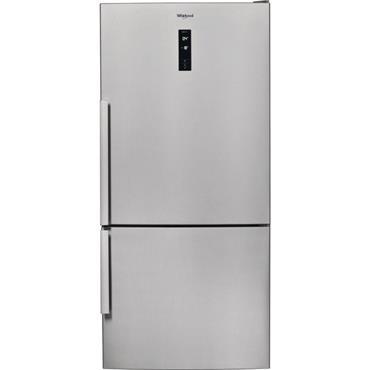 Whirlpool 84cm 2 Door Stainless Steel Fridge Freezer