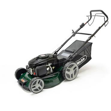 "Webb Classic Self Drive Lawnmower Electric Start 18"""