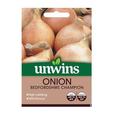 Unwins Onion Bedfordshire Champion