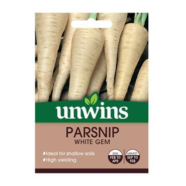 Unwins Parsnip White Gem