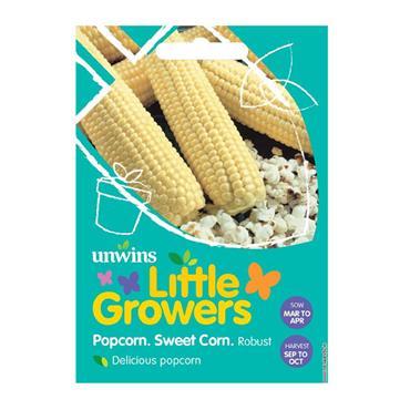 Unwins Little Growers - Popcorn Sweet Corn Robust