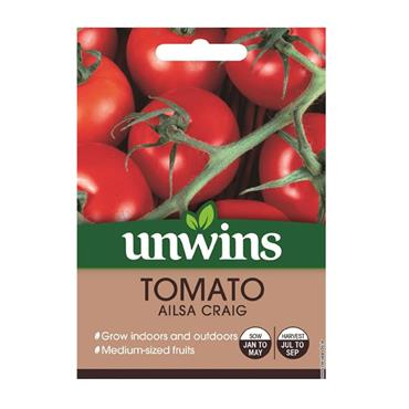Unwins Tomato Ailsa Craig