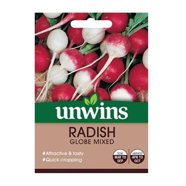 Unwins Radish Globe Mixed