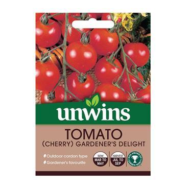Unwins Tomato (Cherry) Gardener's Delight