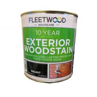 Fleetwood Exterior Woodstain Walnut 1L