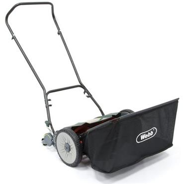 """Webb Hand Push Mower 18"""" with Collector"""