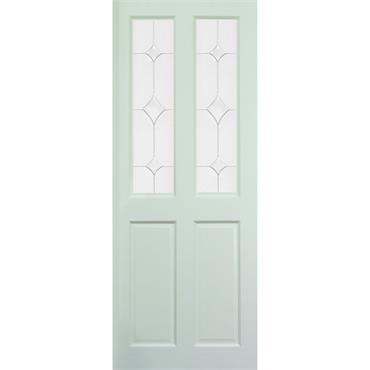 "Deanta Modern Style Primed Door """"WM4G-Luma"""""