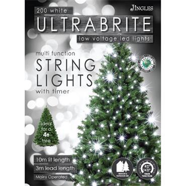Mercer 200 White LED Ultrabrite Timer Lights