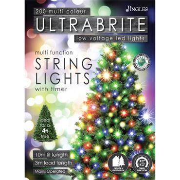 Mercer 200 Multicolour LED Ultrabrite Timer Lights