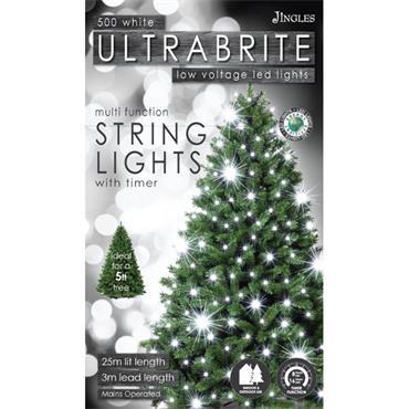 Mercer 500 White LED Ultrabrite Timer Lights
