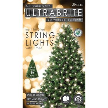 Mercer 500 Warm White LED Ultrabrite Timer Lights