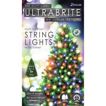 Mercer 500 Multicolour LED Ultrabrite Timer Lights
