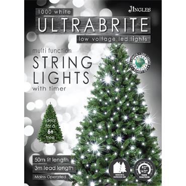 Mercer 1000 White LED Ultrabrite Timer Lights