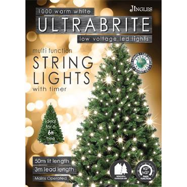 Mercer 1000 Warm White LED Ultrabrite Timer Lights
