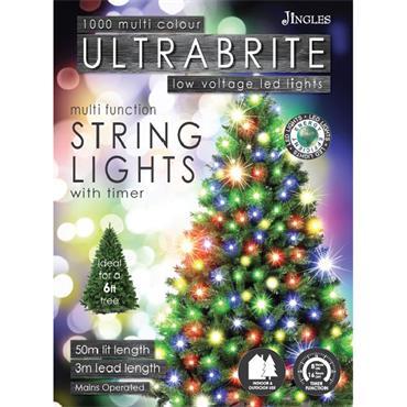 Mercer 1000 Multicolour LED Ultrabrite Timer Lights