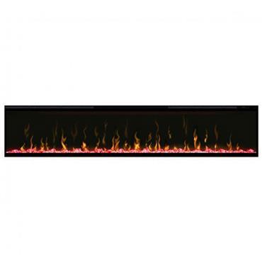 """Dimplex 74"""" Ignite Optiflame Electric Fire Black"""