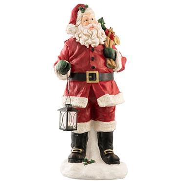 Belleek Santa With Lantern Led