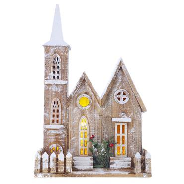 Mercer 50cm Wooden Church