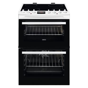 Zanussi 60cm Electric Double Cavity Cooker