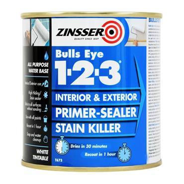 Zinsser Bulls Eye 1-2-3 2.5L