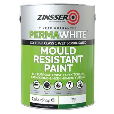 Zinsser Perma White Interior Matt 5L