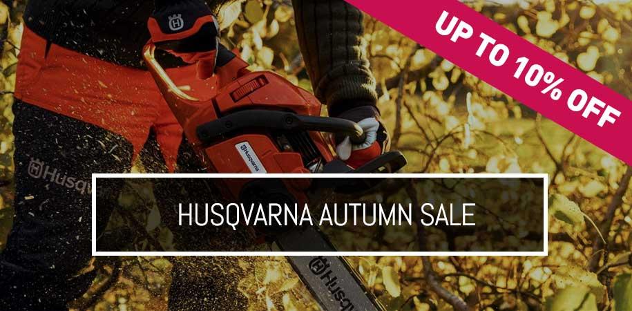 Husqvarna Autumn Sale - Up to 10% off