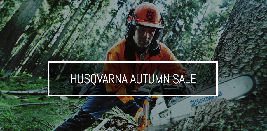 Husqvarna Autumn Sale - 10% Off selected chainsaws & backpack blowers