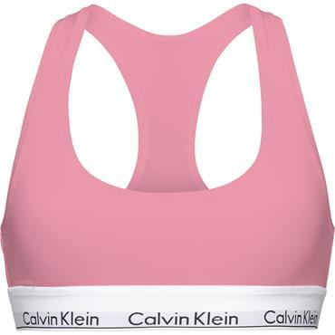 CK UNLINED BRALETTE, - Pink