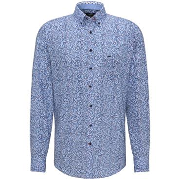 Fynch Hatton Shirt - Leaf Print