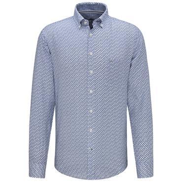 Fynch Hatton Shirt - Blue Print
