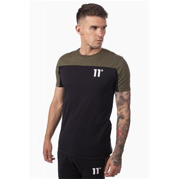 Block T - Black And Olive Marl