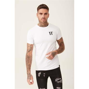 Core Muscle Fit T - WHITE