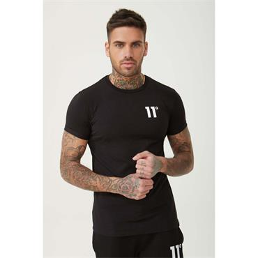 Core Muscle Fit T - BLACK