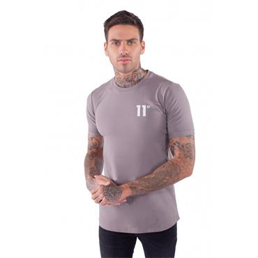 Muscle Fit T-Shirt, Hunter Grey - 11 Degrees
