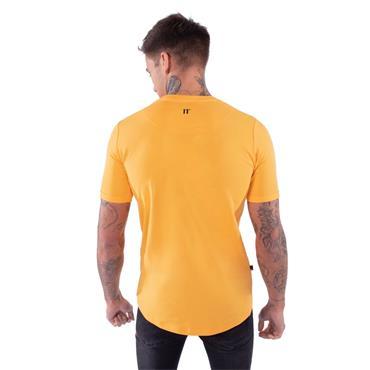 Muscle Fit T-Shirt, Saffron - 11 Degrees