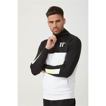 NEO Poly Track Top - Black White Lime