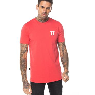 Core Muscle Fit T-Shirt, Hot Red - 11 Degrees